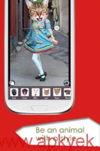 دانلود نرمافزار تغییر چهره به حیوانات Animal Face v2.4.8 اندروید