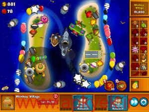 دانلود بازی شهر میمون ها Bloons Monkey City 1.0.4 اندروید