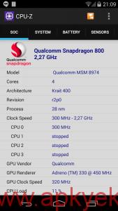 دانلود نرمافزار مشاهده جزئیات گوشی CPU-Z v1.10 اندروید