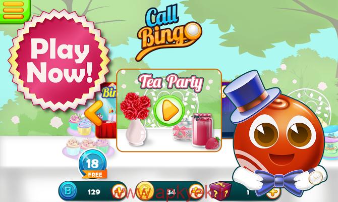 دانلود بازی ماجراجویی Call Bingo v1.0.3 اندروید