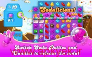 دانلود بازی حماسه آب نبات ها Candy Crush Soda Saga v1.36.9 اندروید