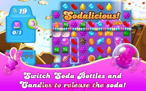 دانلود بازی حماسه آب نبات ها Candy Crush Soda Saga 1.55.15 اندروید