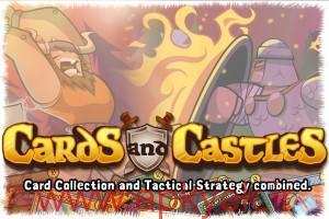 دانلود بازی استراتژیکی Cards and Castles v1.2.70 اندروید