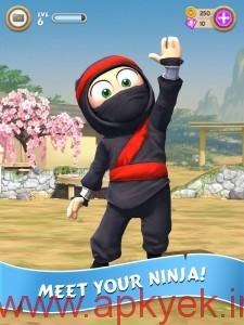 دانلود بازی نینجا دست و پا چلفتی Clumsy Ninja 1.18.0 اندروید
