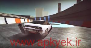 دانلود بازی اتومبیل رانی گرافیکی و کم حجم Drift Zone v1.3.6 اندروید