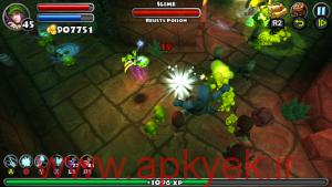 دانلود بازی ماموریت زندان Dungeon Quest 1.8.1.1 اندروید