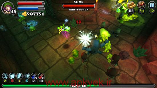 دانلود بازی ماموریت زندان Dungeon Quest v2.1.0.2 اندروید