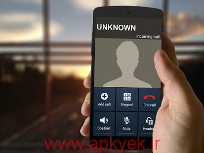 دانلود نرمافزار تماس جعلی Fake phone call v3.0 اندروید