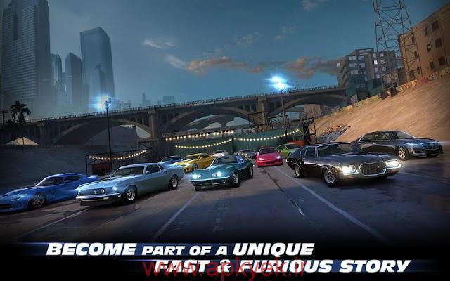 دانلود بازی ماشین سواری سریع و خشمگین Fast & Furious Legacy 2.1.1 اندروید