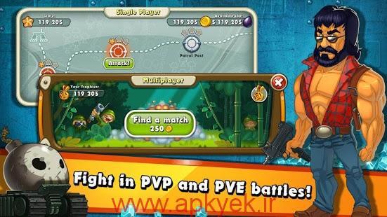 دانلود بازی Jungle Heat 1.8.13 اندروید نسخه جدید