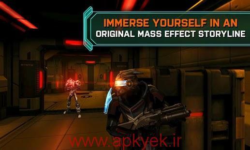 دانلود بازی اکشن و گرافیکی Mass Effect Infiltrator 1.0.39 اندروید