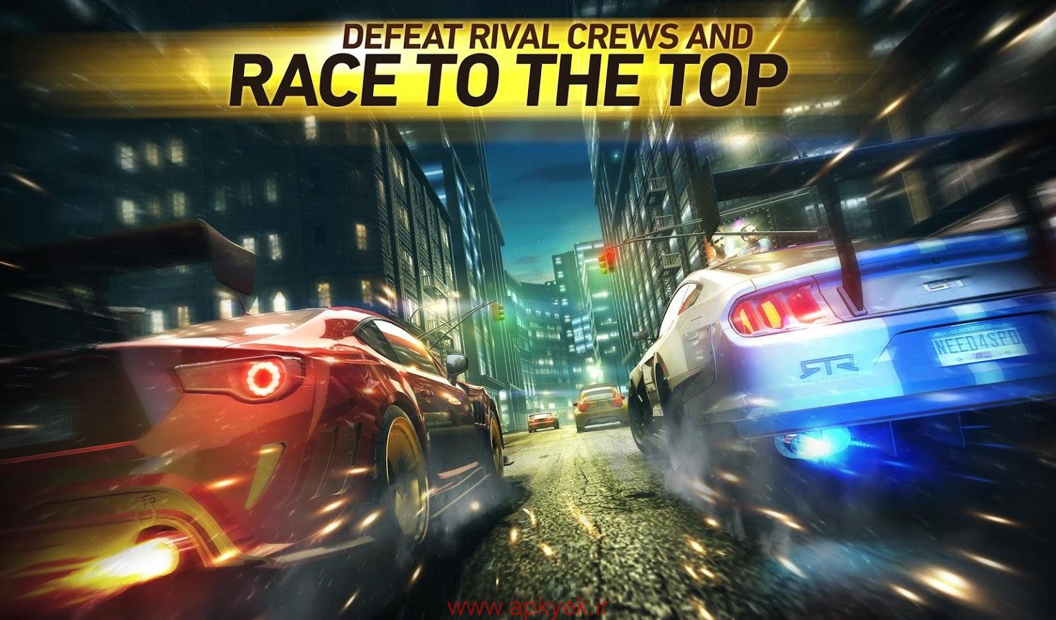 دانلود بازی نید فور اسپید نهایت سرعت Need for Speed™ No Limits 1.0.47 اندروید