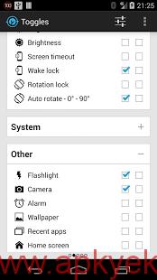دانلود نرمافزار Notification Toggle v3.4.1 اندروید