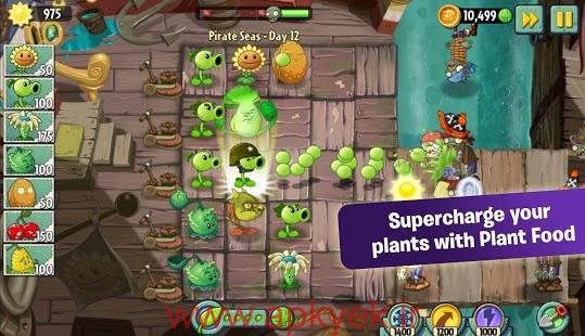 دانلود بازی گیاهان در مقابل زامبی ها Plants vs Zombies 2 3.6.1 اندروید