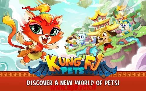 دانلود بازی کونگ فو حیوانات Kung Fu Pets 1.2.10 اندروید