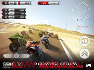 دانلود بازی مسابقه موتور SBK14 Official Mobile Game 1.4.5 اندروید