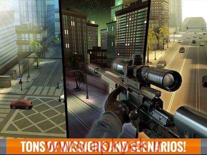 دانلود بازی تیراندازی در خفا Sniper 3D Assassin 1.5 اندروید مود شده