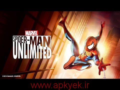دانلود بازی مرد عنکبوتی بدون محدودیت Spider Man Unlimited 1.8.1b اندروید