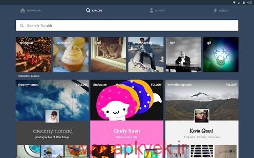 دانلود نرمافزار Tumblr v3.8.2 اندروید