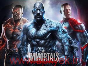 دانلود بازی گرافیکی کشتی کج WWE Immortals 1.1.0 اندروید