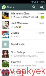 دانلود نرمافزار واتس اپ WhatsApp Messenger 2.12.74 اندروید