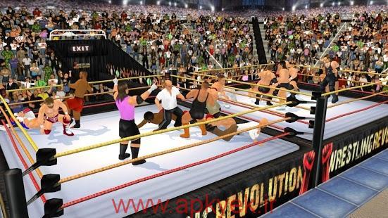 دانلود بازی کشتی کج سه بعدی Wrestling Revolution 3D 1.460 اندروید