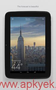 دانلود نرمافزار هواشناسی یاهو Yahoo Weather 1.3.2 اندروید