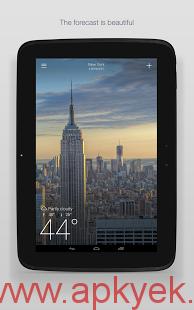 دانلود نرمافزار هواشناسی یاهو Yahoo Weather v1.3.6 اندروید