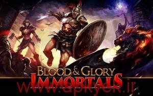 دانلود بازی جنگ برای جاودانگی BLOOD & GLORY: IMMORTALS v1.0.0 اندروید