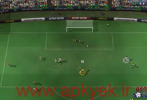 دانلود بازی فوتبال سه بعدی Active Soccer 2 1.1.0 اندروید