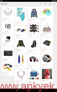 دانلود نرمافزار فروشگاه علی بابا AliExpress Shopping App 4.1.1 اندروید