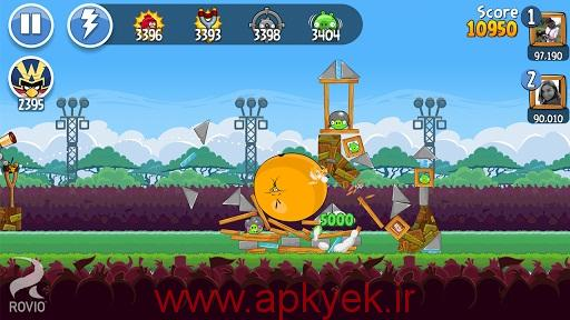 دانلود بازی دوستان پرندگان خشمگین Angry Birds Friends 2.0.0 اندروید