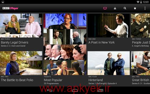 دانلود ویدیو پلیر جدید و قدرتمند BBC iPlayer v4.7.0.54 اندروید