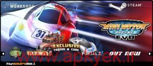 دانلود بازی مسابقه موتور سوار کوچک Mini Motor Racing v1.8.2 اندروید