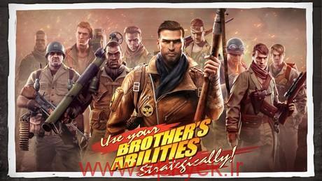 دانلود بازی برادران جنگجو Brothers in Arms 3 1.3.3a اندروید