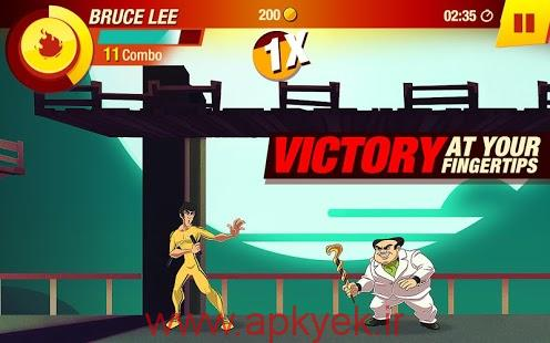 دانلود بازی بروسلی Bruce Lee: Enter The Game 1.2.0.6383 اندروید مود شده