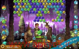 دانلود بازی حباب های جادوگر Bubble Witch Saga v3.1.19 اندروید مود شده