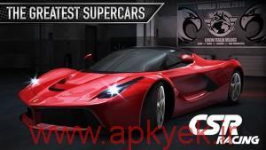 دانلود بازی مسابقه اتومبیل رانی CSR Racing v2.6.0 اندروید مود شده