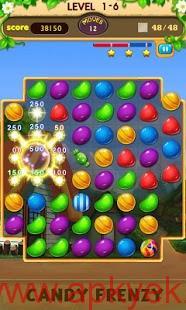دانلود بازی آب نبات های دیوانه Candy Frenzy 6.0.061 اندروید