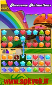 دانلود بازی اب نبات های افسانهای Candy Legend 2 2.2 اندروید
