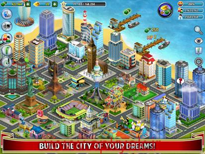 دانلود بازی ساخت شهرستان جزیره ای City Island 2.2.15 اندروید