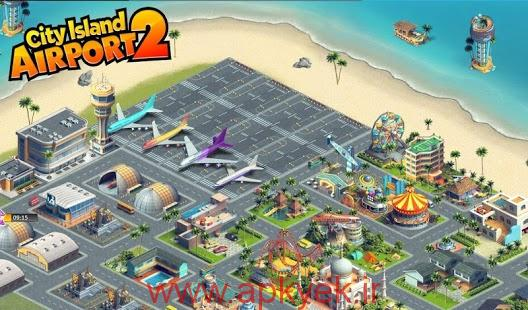 دانلود بازی فرودگاه شهرستان City Island: Airport 2 1.3.5 اندروید