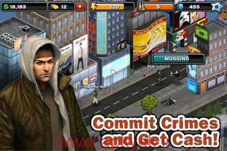 دانلود بازی اکشن جرم و جنایت Crime City 6.1 اندروید