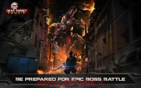 دانلود بازی اکشن و تفنگی هدف مرده DEAD TARGET : Zombie 1.5.8 اندروید مود شده پول بی نهایت