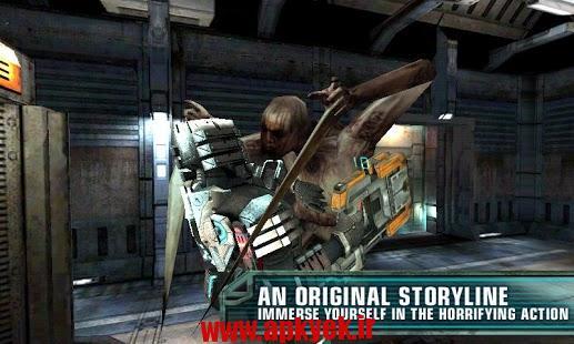دانلود بازی اکشن فضای مرده Dead Space 1.2.0 اندروید مود شده و افلاین