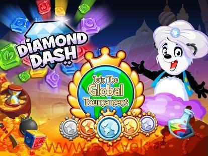 دانلود بازی دیامون داش Diamond Dash v4.1 اندروید