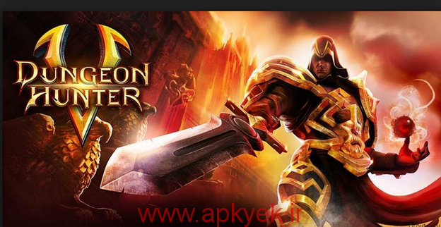 دانلود بازی ماموریت زندان هانتر Dungeon Hunter 5 1.2.0n اندروید مود شده پول بی نهایت