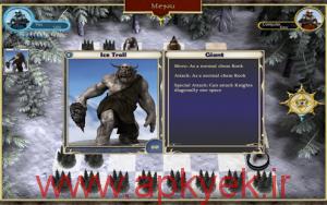 دانلود بازی گرافیکی شطرنج کوتوله ها Dwarven Chess: Goblin Campaign v1.0 اندروید