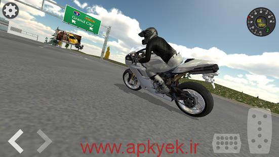دانلود بازی موتور سیکلت های سرعتی Extreme Motorbike Racer 3D v2.2 اندروید