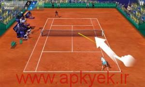 دانلود بازی تنیس Flick Tennis1.6.0 اندروید